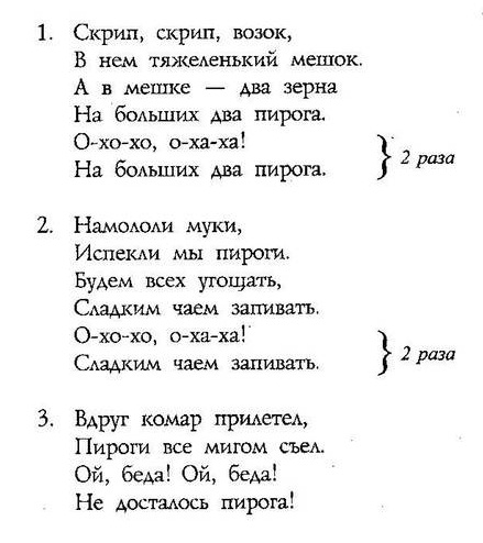 ноты детских песенок34