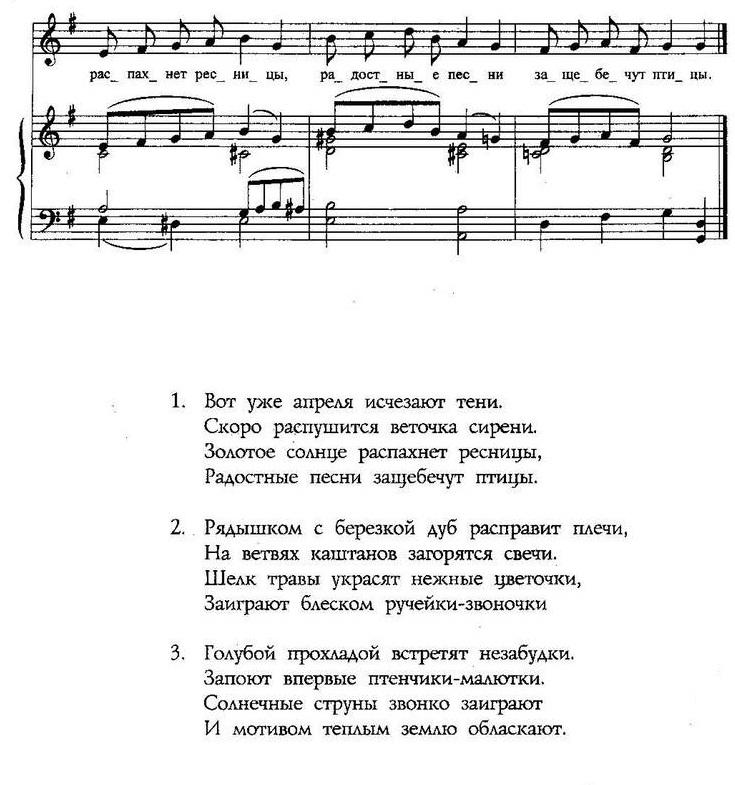 ноты детских песенок77