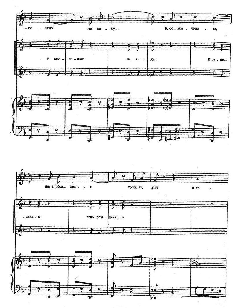 Шаинский. ноты детских песен30