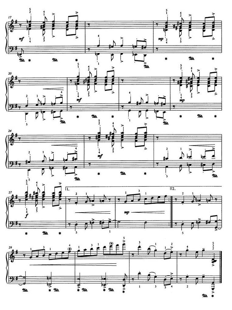 джазовые инвенции для фортепиано37