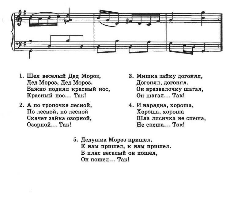 ноты новогодних песен29.1