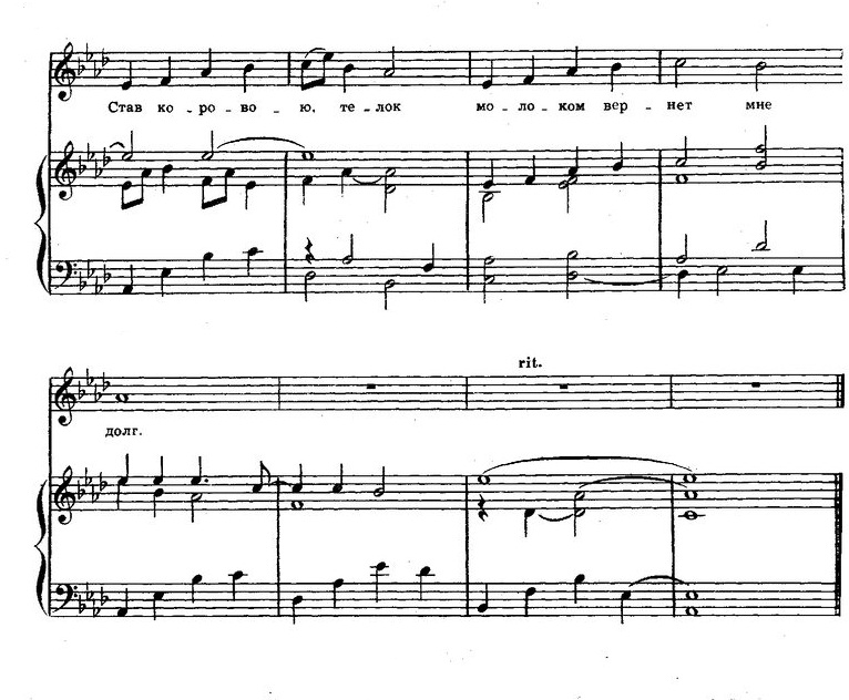песни для детей в сопровождении фортепиано74