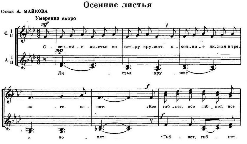 Репертуар детских и юношеских хоров12
