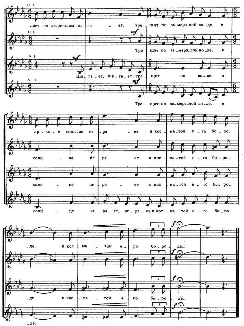 Репертуар детских и юношеских хоров22