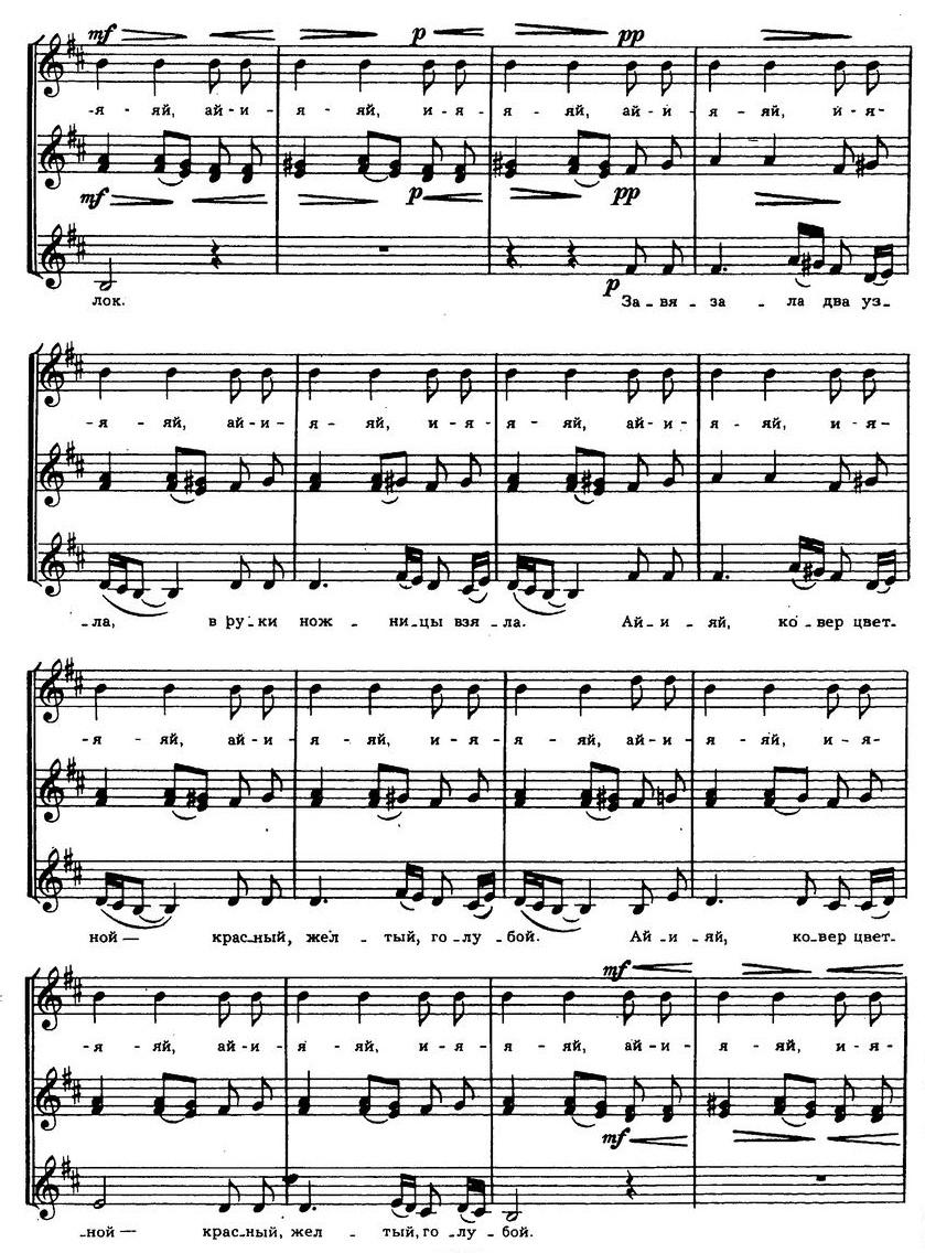 Репертуар детских и юношеских хоров29