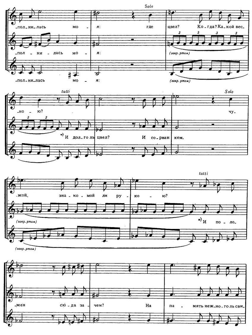 Репертуар детских и юношеских хоров38