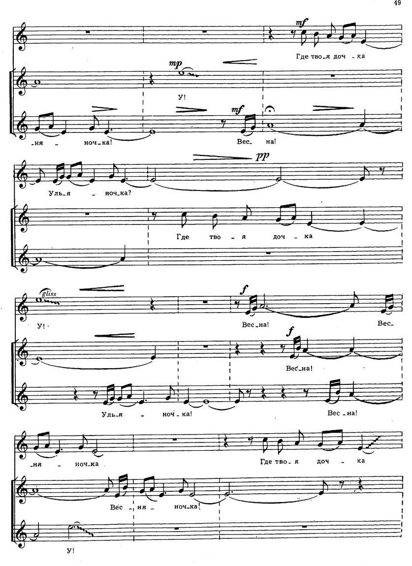 Репертуар детских и юношеских хоров47