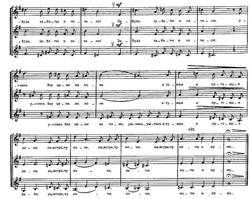 Репертуар  юношеских хоров11.0