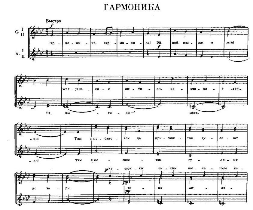 Репертуар  юношеских хоров17