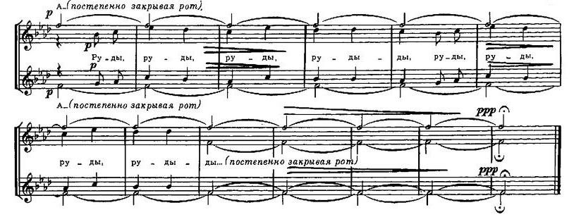 Репертуар  юношеских хоров19.0